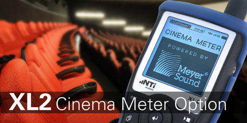 XL2 Cinema Meter Option