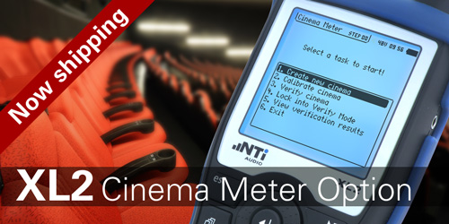 New XL2 Cinema Meter - Available now