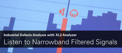 Listen To Narrowband Filtered Signals