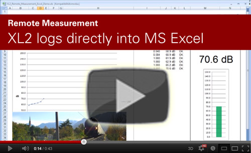 Xl2 logs directly into MS Excel